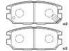 刹车片 Brake Pad Set:MB857610